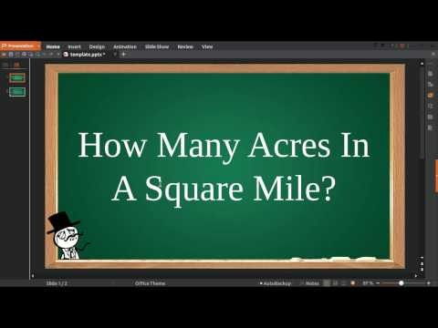 How Many Acres In A Square Mile