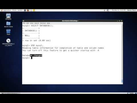 MySQL - CREATE Database Command in Terminal - Console [ SHOW SELECT DROP USE ]