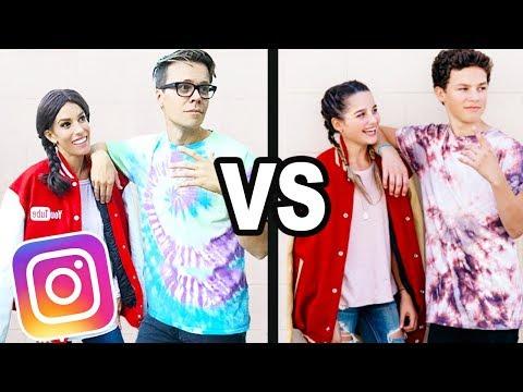 We Copied Annie Leblanc and Hayden Summerall Instagram Photos For a Week! (Hannie)