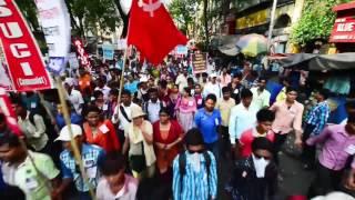 Maha Michhil Surged the Streets of Kolkata