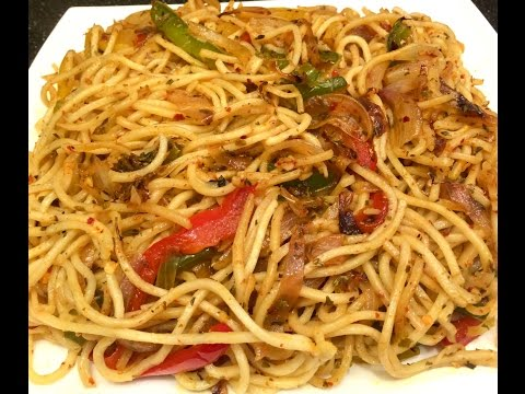 Hakka Noodles without Soy Sauce | Vegetable Noodles | Indo-Chinese Recipe (Chowmein)