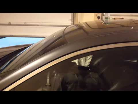 How to remove double sided tape from a car