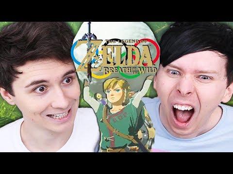 Dan vs. Phil:  ZELDA OLYMPICS!