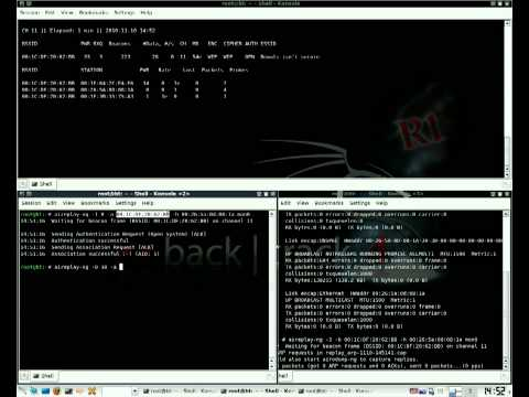 How To Crack WEP Encryption With Bactrack 4 R1
