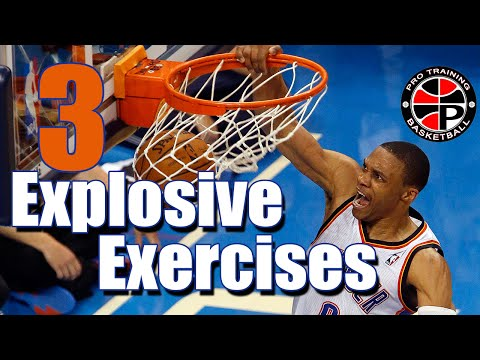 3 Explosive Exercises | Improve Your Explosiveness | Pro Training Basketball