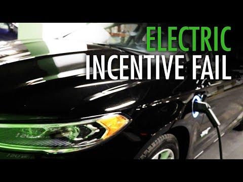 """Green"" flows one way with Wynne's electric car rebate"