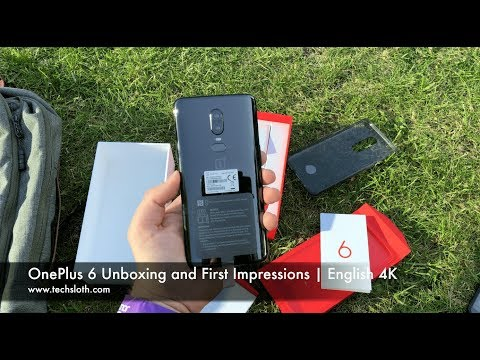 OnePlus 6 Unboxing and First Impressions | English 4K