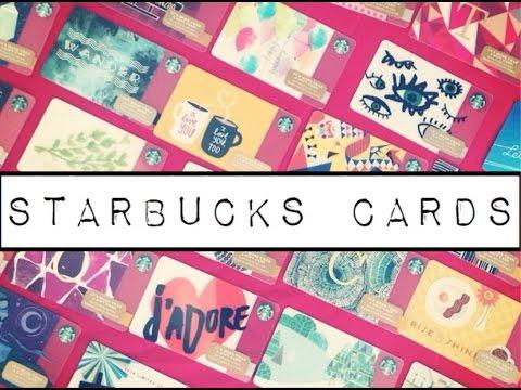 Beautiful Starbucks Cards | ART | CHILL