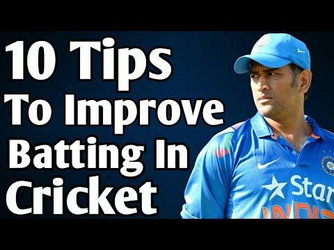 Cricket Batting Tips: 10 Tips To Improve Batting in Cricket | Batting Tips in Hindi | Cricket Tips