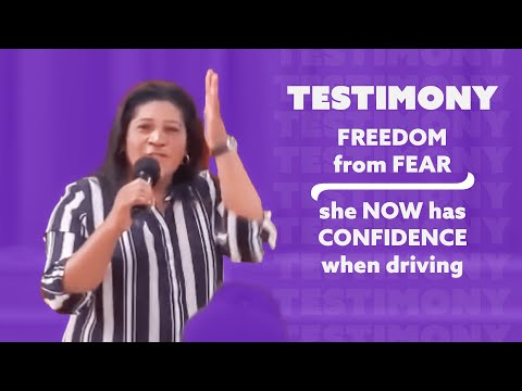 Testimony:  Freedom from fear, confidence in driving!