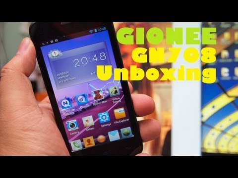 Gionee GN708 Unboxing - Quad-Core Android With qHD Screen & Extra Accessories For PHP 12k