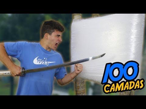 FIZ UMA PAREDE INDESTRUTÍVEL COM 100 CAMADAS DE PLÁSTICO BOLHA