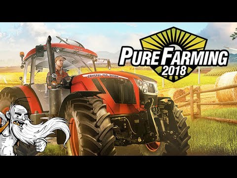 I'M THE WORLD'S GREATEST FARMER!!! - Let's Play Pure Farming 2018 Gameplay