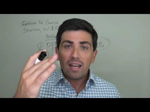 FB Ads Free Training - Video 2: The 5 Problems Clients Have with Facebook Ads