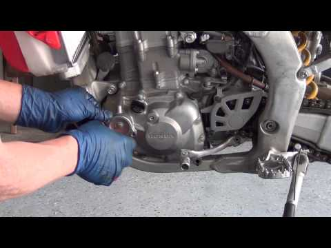 How to Change the Oil Honda CRF450