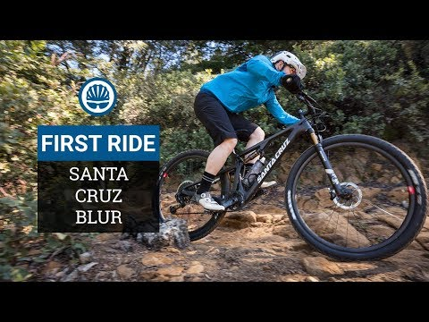 Santa Cruz Blur First Ride Review - All New XC Race Rig