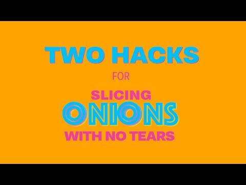 How To Cut Onions Without the Tears