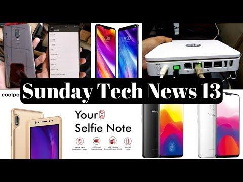 sunday tech news 13-Xiaomi Redmi S2,Oneplus 6,Jio Fibernet Offer 1.1 TB Free Data,Vodafone  349 Plan