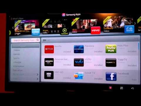 How to Install Plex App on Samsung TV Smart Hub 2.0