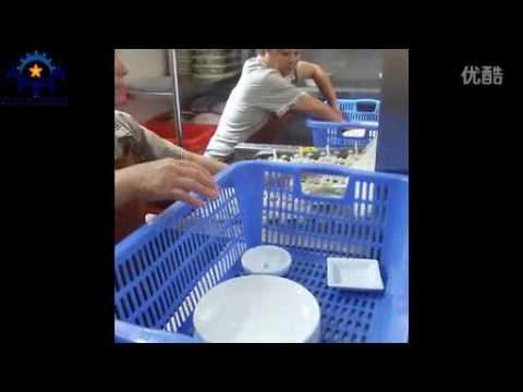 Q45 automatic dishwasher machine for industrial Kitchen Restaurant
