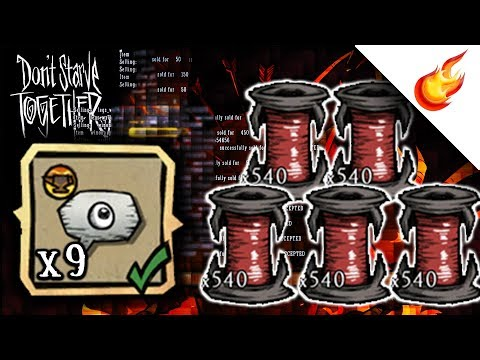 How To Automate Unraveling Duplicate Items In Don't Starve Together