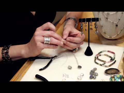How to Make Your Own Wire Wrap Earrings : Introduction to Wire Wrap Jewelry