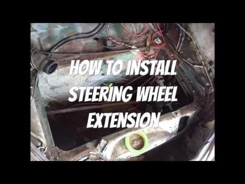 68 bug steering wheel extension