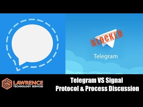 Telegram VS Signal Protocol & Process Discussion 2018