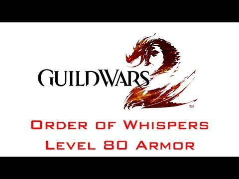 Guild Wars 2 Order of Whispers Level 80 Armor (Vendor)