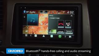JVC KW-M845BW Display and Controls Demo   Crutchfield Video