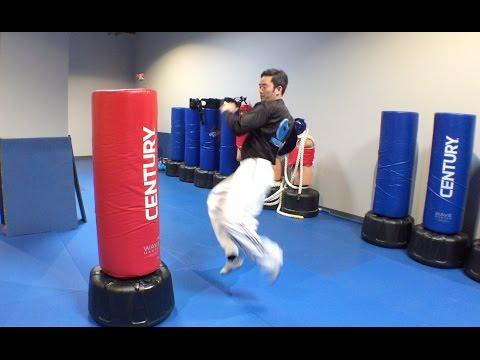 Adding Jumps to Your Kicks on Your Freestanding Bag