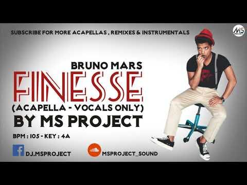 Bruno Mars - Finesse (Acapella - Vocals Only)