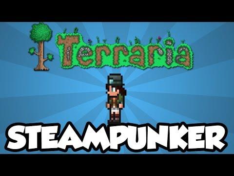Terraria 1.2 - How To Get The Steampunker NPC (New Terraria 1.2 Items)