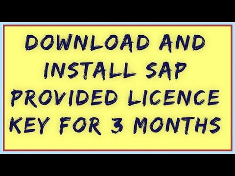 How to install SAP License 2018 || Install SAP License || SAP License 2018