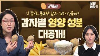 [감자 2편] 건조감자, 냉동감자는 영양소 그대로일까? 통감자와 비교해보니…