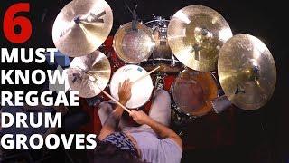 6 Must Know Reggae Drum Grooves | Learn Drum Beats | Lesson by Ben Satterlee Drum Teacher