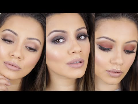 Urban Decay Naked Ultimate Basics Palette Tutorial 👉🏽 THREE looks + SWATCHES & REVIEW