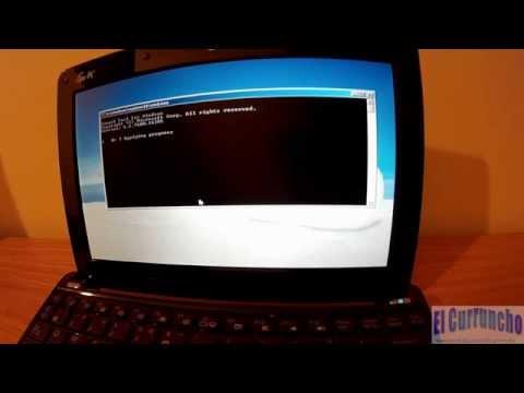 Cómo restaurar netbook Asus eee pc 1005pe [HD 1080p]