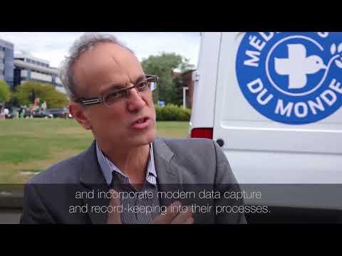 La Clinique mobile de Médecins du Monde en collaboration avec TELUS Santé