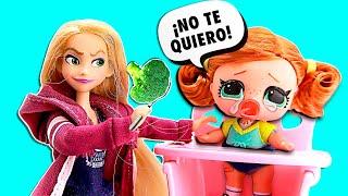 Download 🍼 ¡RAPUNZEL ADOPTA una LOL SURPRISE! ► 🌙 Novelas con muñecas y juguetes Video