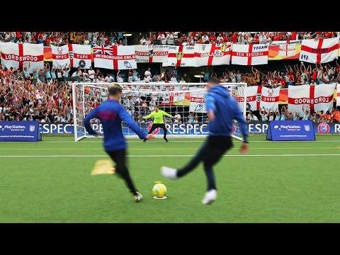 PENALTY SHOOTOUT CHALLENGE vs CHELSEA FOOTBALL PLAYER!!