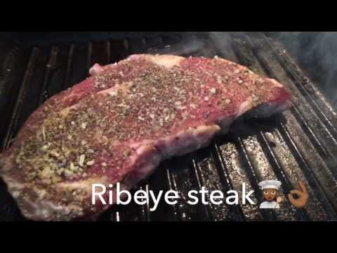 ~ Ribeye Steak Medium rare