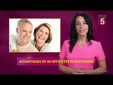 Top 5 Advantages of In Office Teeth Whitening