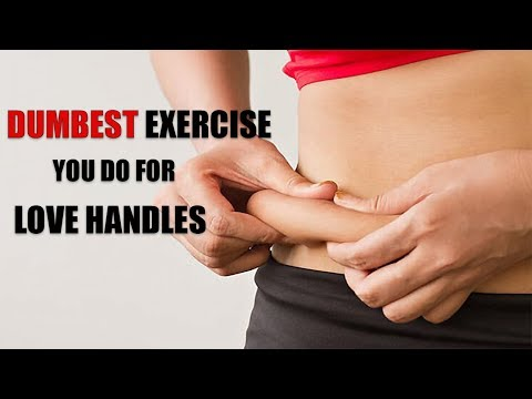 Avoid this STUPID exercise for LOVE HANDLES- 3 realistic ways to lose them fast