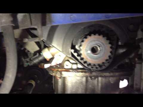 Chevy Aveo Timing Belt Idler Fail