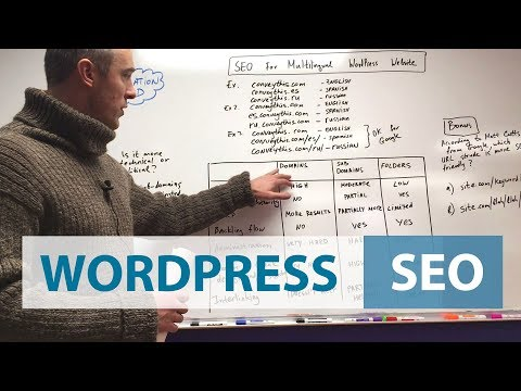 SEO FOR MULTILINGUAL WORDPRESS WEBSITE