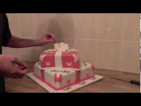 Friday Tip 20th September 2013 - Using Cake Wire for Cake Toppers