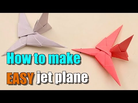 Super Fast Paper Airplanes Making Video - How to Make Paper Planes That Fly High