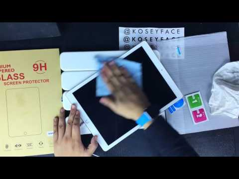 ipad pro tempered glass screen protector Application & Review
