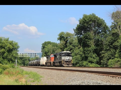 Meets and More: A Humid Day on The Pittsburgh Line 7/23/16